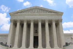 Cases involving car accidents and insurance companies are increasing every year. This image shows the supreme court.